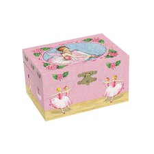 Ballerinas Treasure Music Box