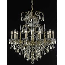 <strong>Elegant Lighting</strong> Athena 10 Light Chandelier