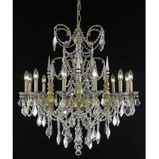 <strong>Elegant Lighting</strong> Athena 12 Light  Chandelier