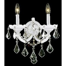 Maria Theresa 2 Light Wall Sconce