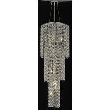 <strong>Elegant Lighting</strong> Moda 9 Light Pendant