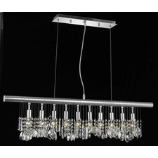 Chorus Line 10 Light Chandelier
