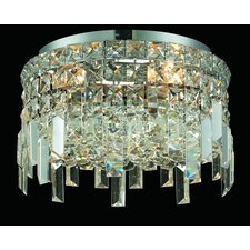 <strong>Elegant Lighting</strong> Maxim 4 Light Semi Flush Mount