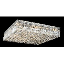 "Maxim 13 Light 24"" Flush Mount"