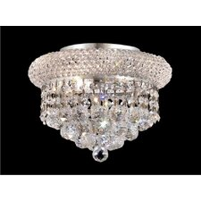 <strong>Elegant Lighting</strong> Primo 3 Light Semi Flush Mount