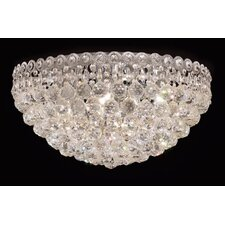 <strong>Elegant Lighting</strong> Century 9 Light Flush Mount