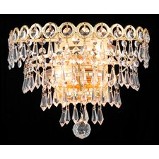 <strong>Elegant Lighting</strong> Century 2 Light Wall Sconce