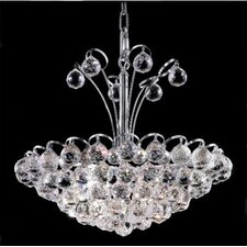 <strong>Elegant Lighting</strong> Godiva 8 Light Chandelier