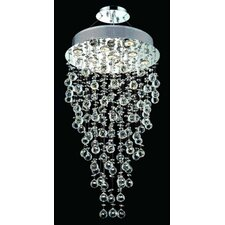 <strong>Elegant Lighting</strong> Galaxy 9 Light Semi Flush Mount