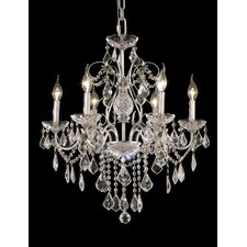 <strong>Elegant Lighting</strong> St. Francis 6 Light Chandelier