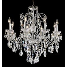 <strong>Elegant Lighting</strong> St. Francis 8 Light Oval Drops Chandelier