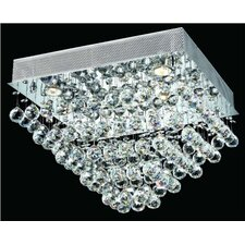 Galaxy 5 Light Semi Flush Mount