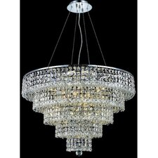 <strong>Elegant Lighting</strong> Maxim 17 Light Chandelier