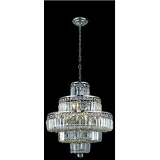 <strong>Elegant Lighting</strong> Maxim 13 Light Chandelier