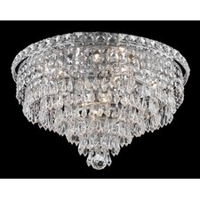 <strong>Elegant Lighting</strong> Tranquil 8 Light Semi Flush Mount