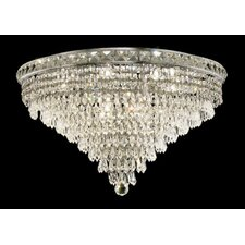 <strong>Elegant Lighting</strong> Tranquil 12 Light Semi Flush Mount