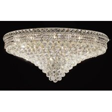 "<strong>Elegant Lighting</strong> Tranquil 21 Light 16"" Semi Flush Mount"