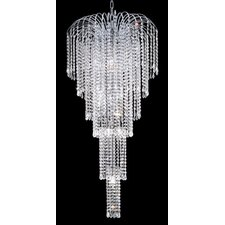 <strong>Elegant Lighting</strong> Falls 9 Light Chandelier
