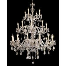 <strong>Elegant Lighting</strong> Alexandria 24 Light  Chandelier