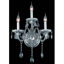 Verona 3 Light Wall Sconce