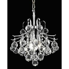 <strong>Elegant Lighting</strong> Toureg 3 Light Chandelier