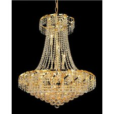<strong>Elegant Lighting</strong> Belenus 15 Light Chandelier