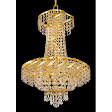 <strong>Elegant Lighting</strong> Belenus 6 Light Chandelier