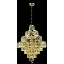 <strong>Elegant Lighting</strong> Maxim 18 Light  Chandelier