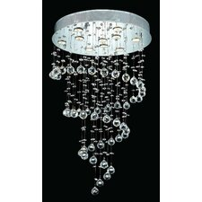 <strong>Elegant Lighting</strong> Galaxy  10 Light LED Chandelier