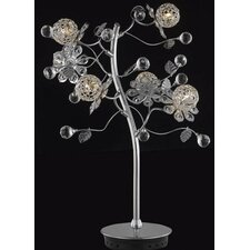 Iris 6 Light Plant Table Lamp