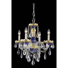 <strong>Elegant Lighting</strong> Alexandria 4 Light  Chandelier