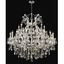 <strong>Elegant Lighting</strong> Maria Theresa 24 Light Chandelier