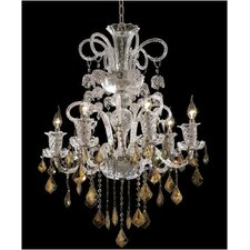 <strong>Elegant Lighting</strong> Elizabeth 6 Light Chandelier