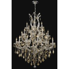 <strong>Elegant Lighting</strong> Maria Theresa 28 Light Chandelier