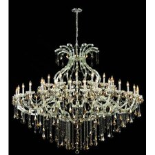 <strong>Elegant Lighting</strong> Maria Theresa 49 Light Chandelier with Chain