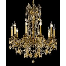 <strong>Elegant Lighting</strong> Rosalia 10 Light Chandelier