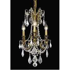 Rosalia 3 Light Chandelier