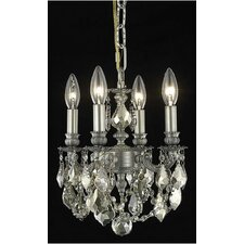 Lillie 4 Light  Chandelier
