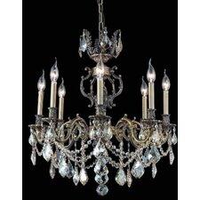 <strong>Elegant Lighting</strong> Marseille  8 Light Chandelier