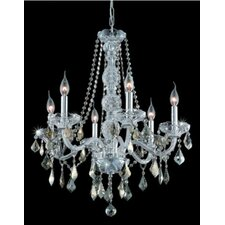 <strong>Elegant Lighting</strong> Verona 6 Light Chandelier