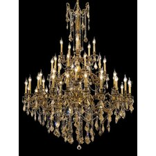 <strong>Elegant Lighting</strong> Rosalia 45 Light  Chandelier