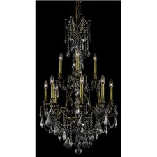 <strong>Elegant Lighting</strong> Monarch 12 Light  Chandelier