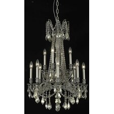 <strong>Elegant Lighting</strong> Rosalia 12 Light  Chandelier