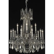 <strong>Elegant Lighting</strong> Rosalia 15 Light  Chandelier