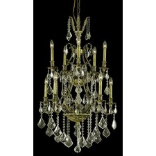 <strong>Elegant Lighting</strong> Monarch 10 Light Chandelier