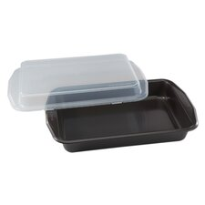 "Signature™ 9"" x 13"" Oblong Cook N' Carry Cake Pan"