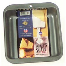 <strong>Baker's Secret</strong> Square Cake Pan