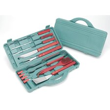KitchenWorthy 12 Piece BBQ Tool Set