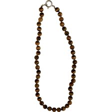 Bret Roberts Tiger Eye Strand Necklace