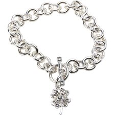 <strong>The Premium Connection</strong> Bret Roberts Four Leaf Clover Charm Bracelet